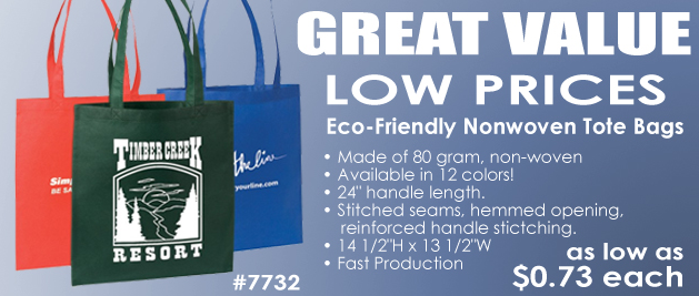Eco-Friendly Non-Woven Promotional Tote Bags
